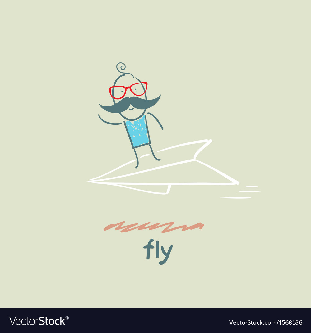 Fly vector | Price: 1 Credit (USD $1)
