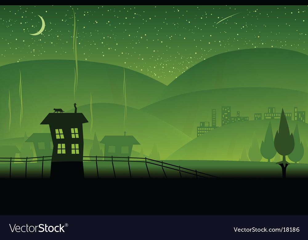 Green hills vector   Price: 1 Credit (USD $1)