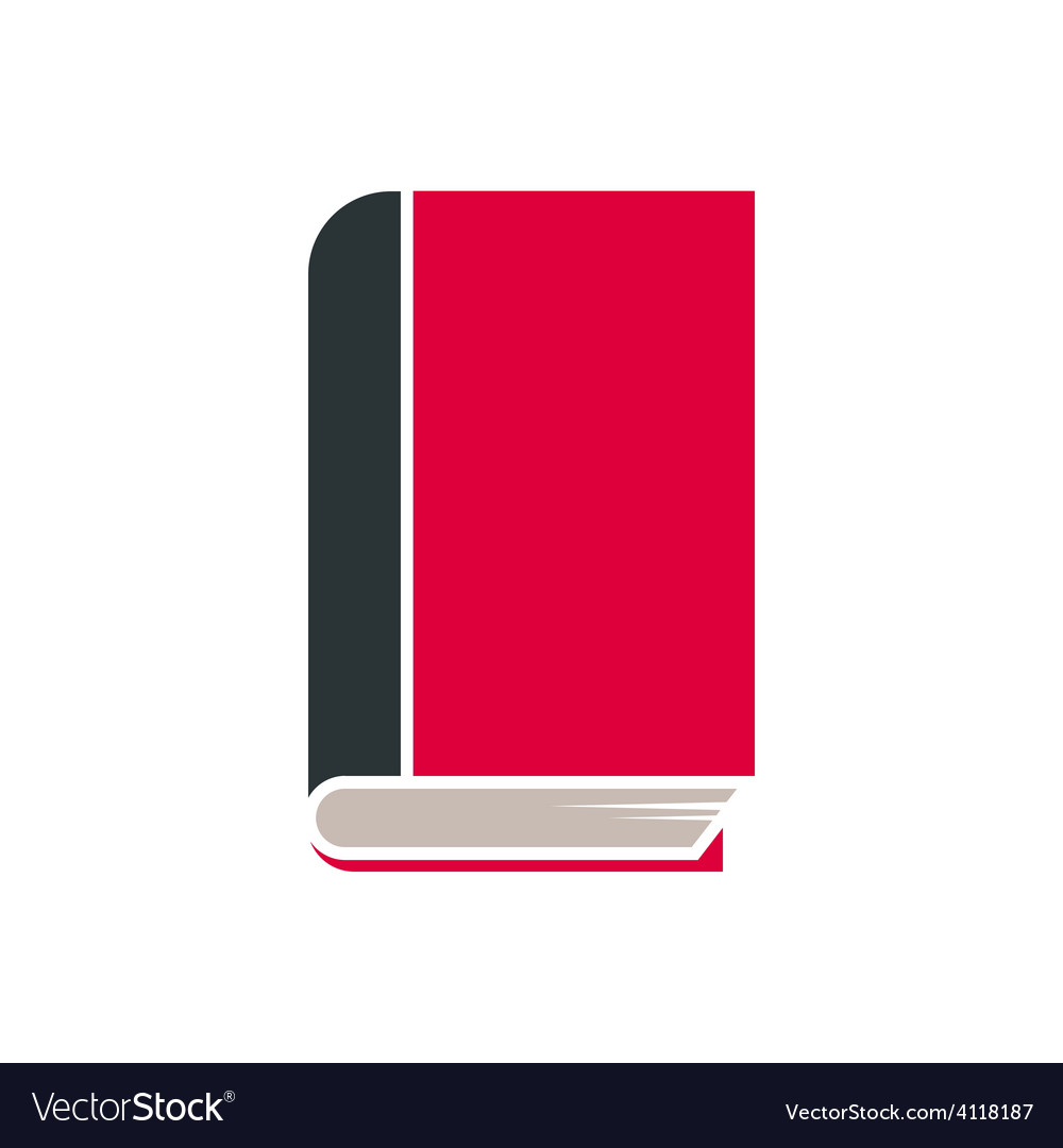 Book icon isolated vector | Price: 1 Credit (USD $1)