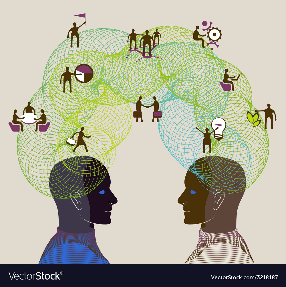 Business concept of collaboration teamwork and vector | Price: 1 Credit (USD $1)