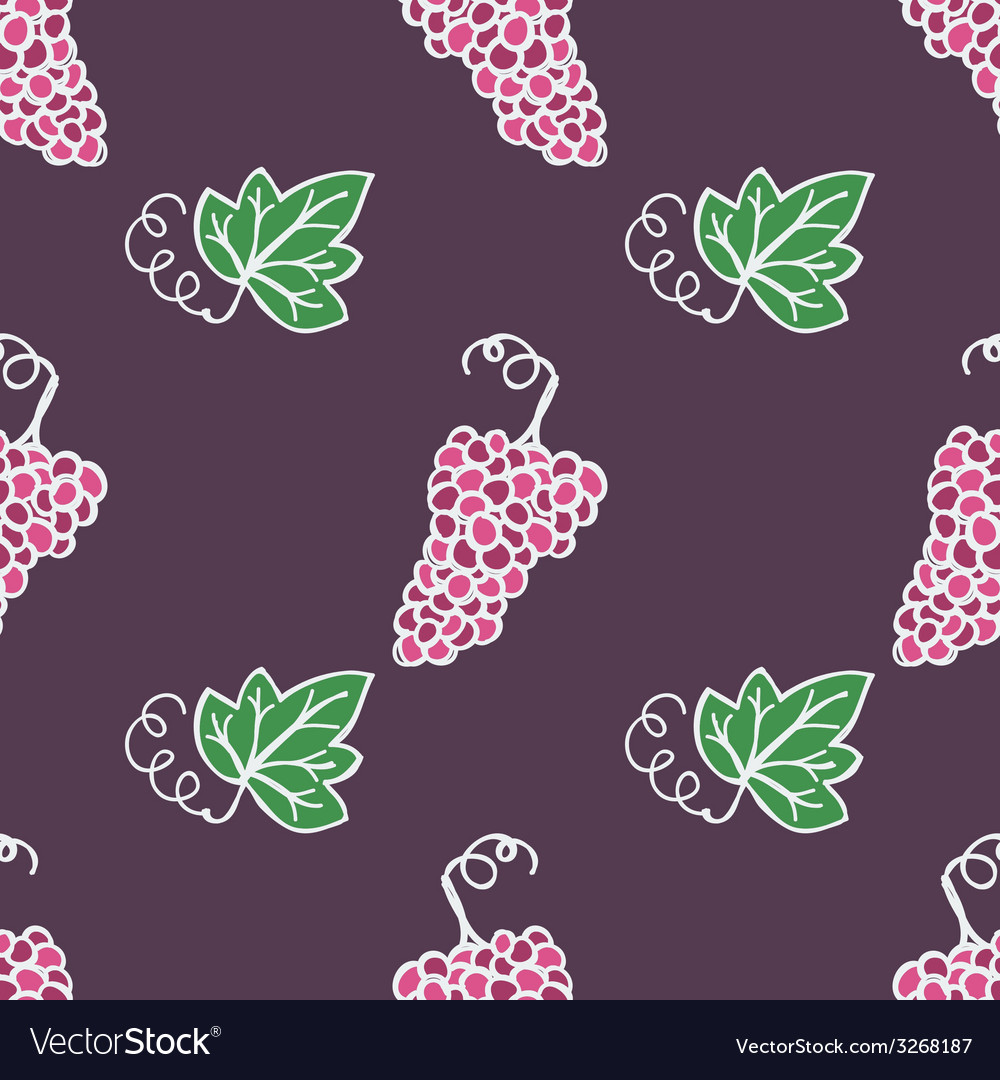 Hand-drawn seamless pattern vector | Price: 1 Credit (USD $1)