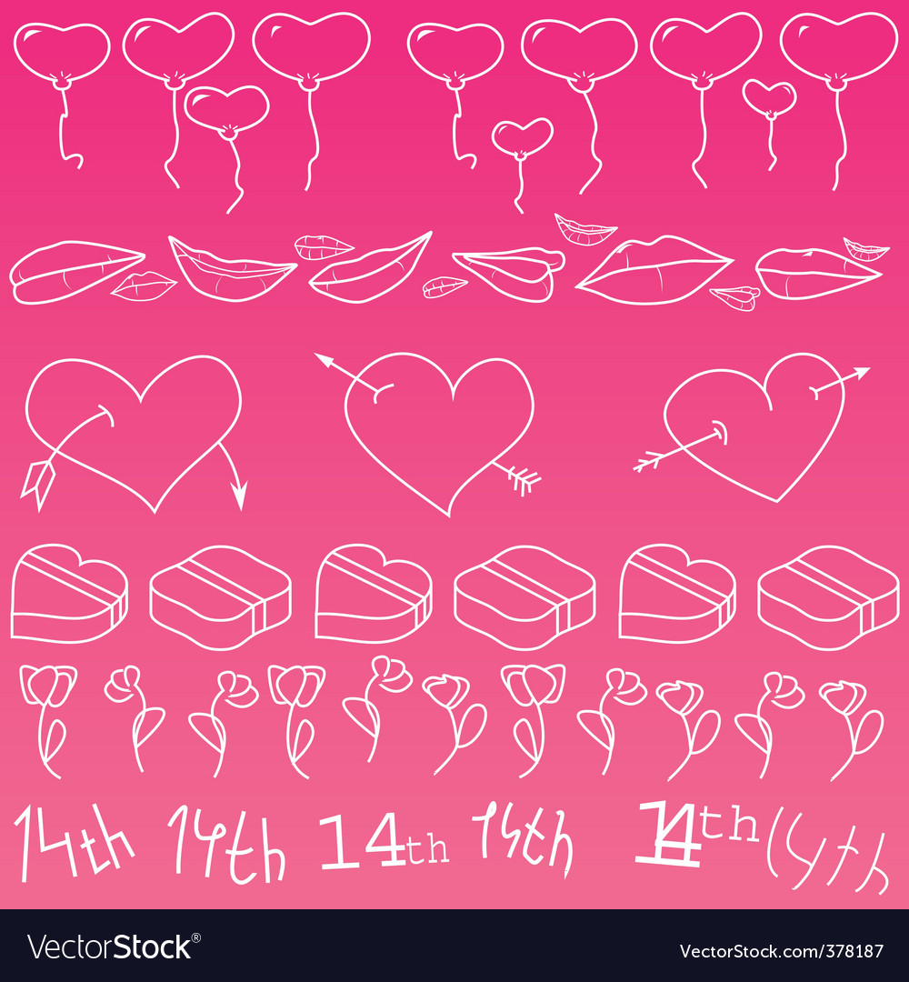Love day vector | Price: 1 Credit (USD $1)