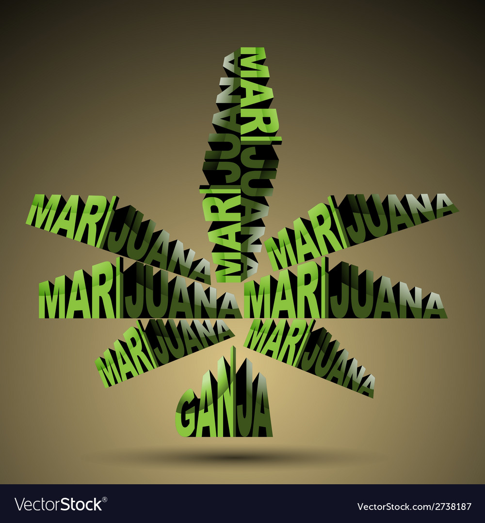 Marijuana world vector | Price: 1 Credit (USD $1)