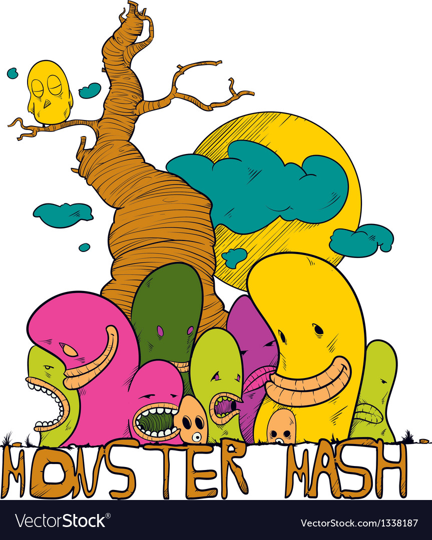 Monster mash vector | Price: 1 Credit (USD $1)