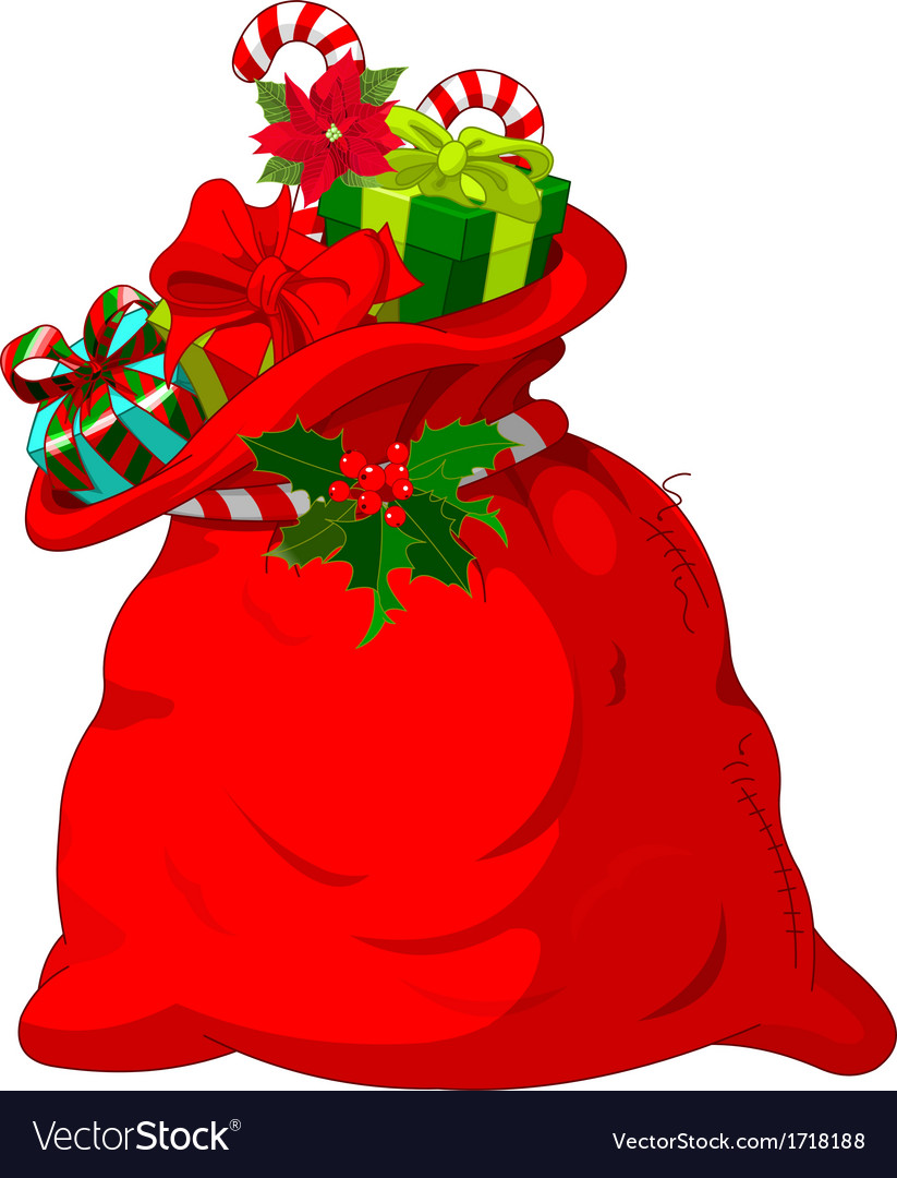 Santa s sack vector | Price: 1 Credit (USD $1)