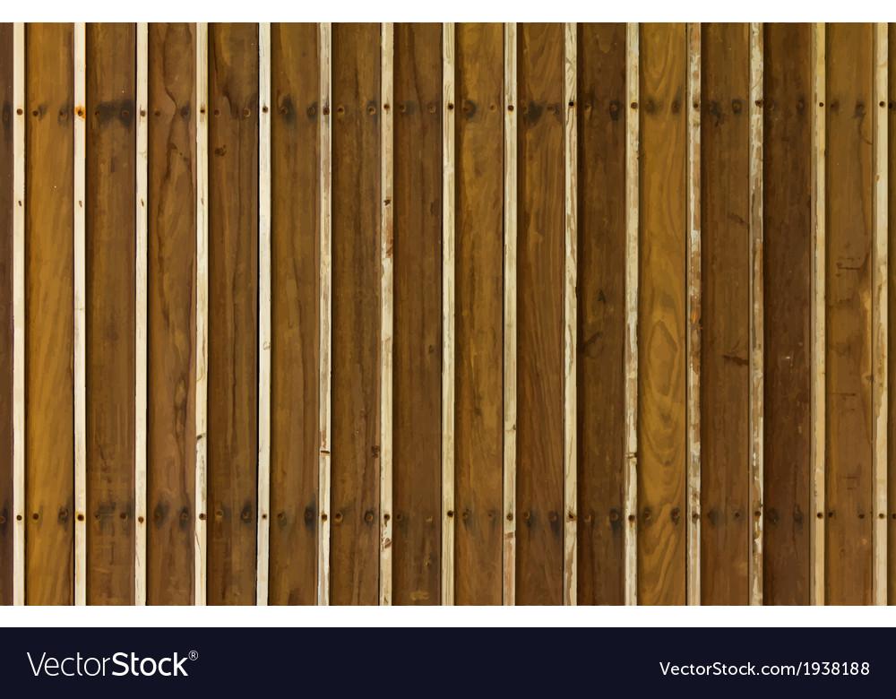 Wood panels vector