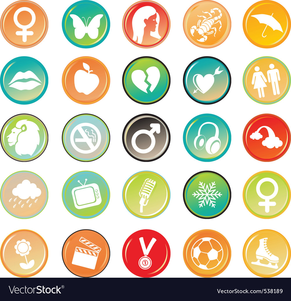 Generic symbols vector | Price: 1 Credit (USD $1)