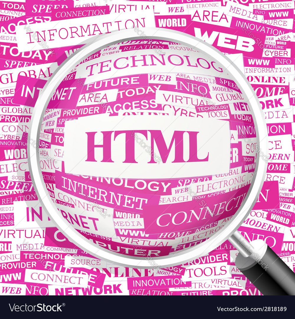 Html vector | Price: 1 Credit (USD $1)