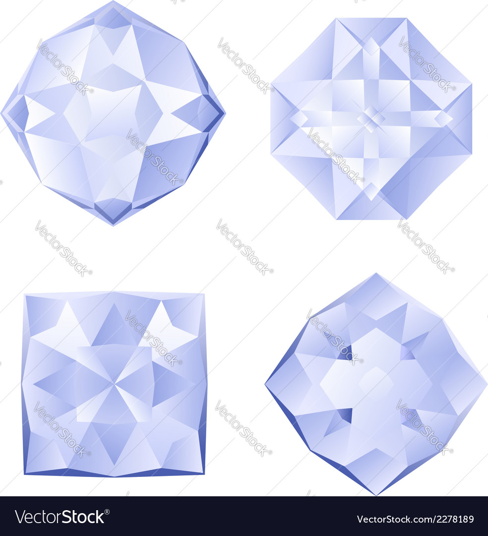 Set of rhinestones vector | Price: 1 Credit (USD $1)