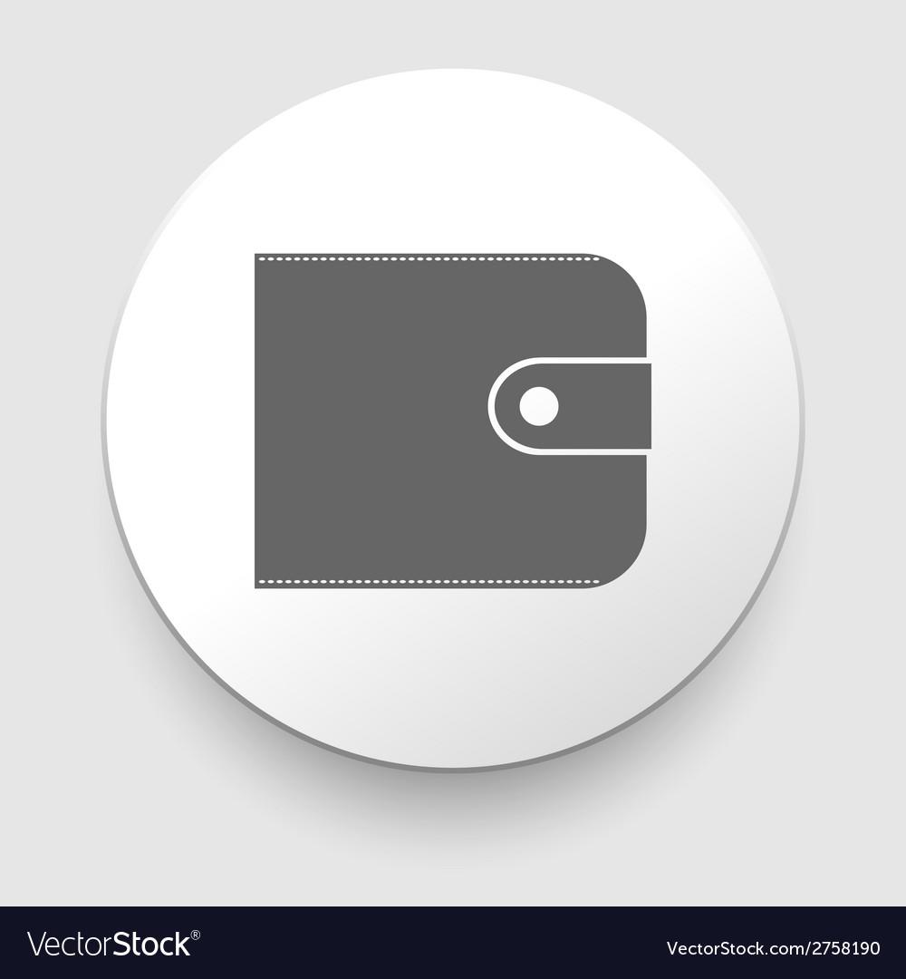 Purse icon vector   Price: 1 Credit (USD $1)