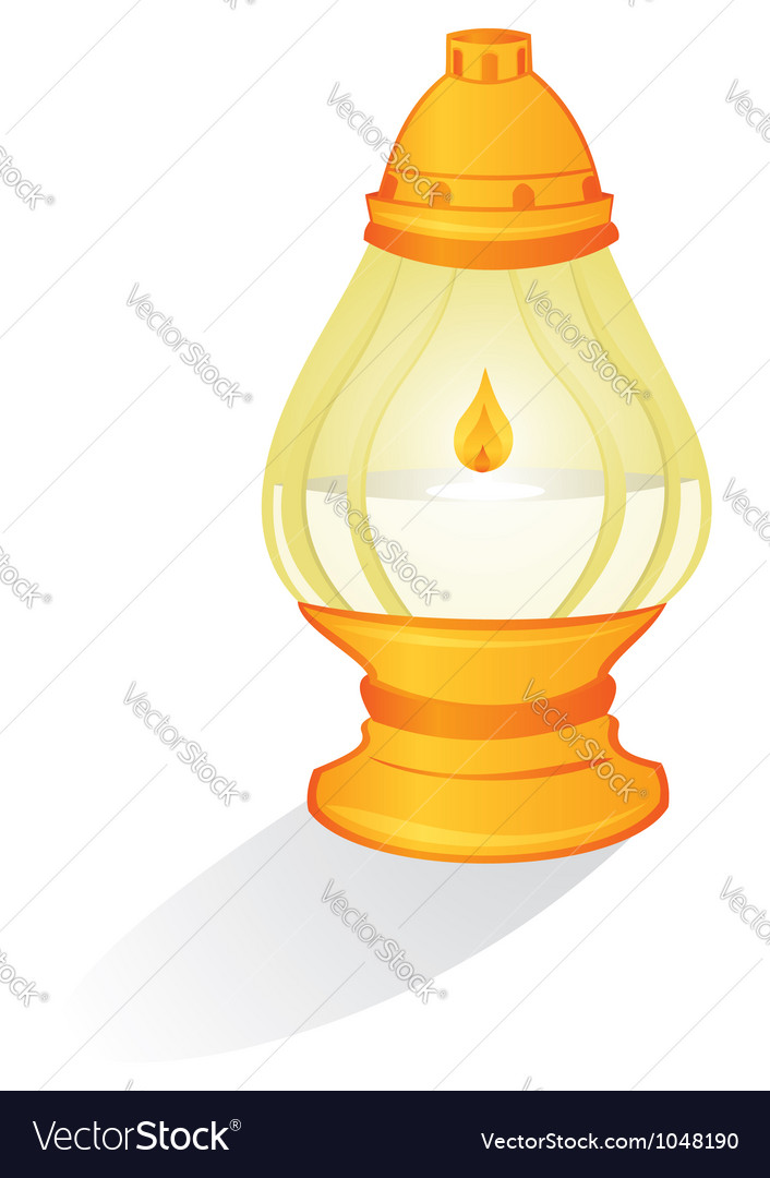 Ritual candle vector | Price: 1 Credit (USD $1)