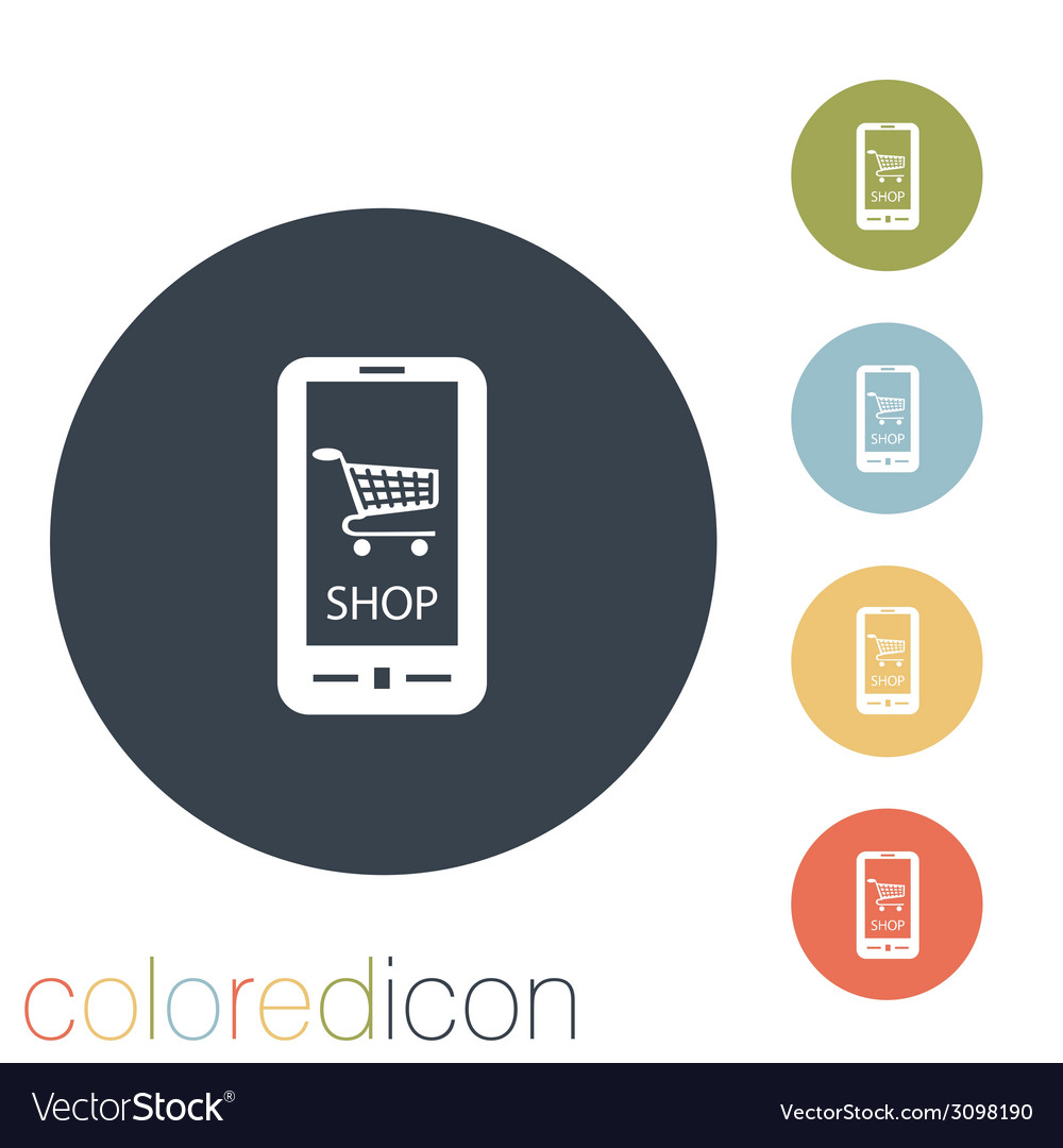Symbol cart online store vector | Price: 1 Credit (USD $1)