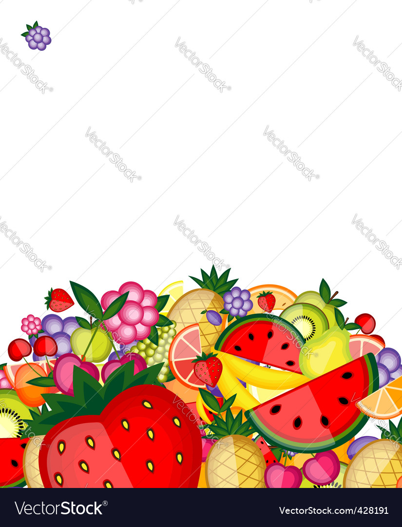Energy fruit background vector | Price: 1 Credit (USD $1)