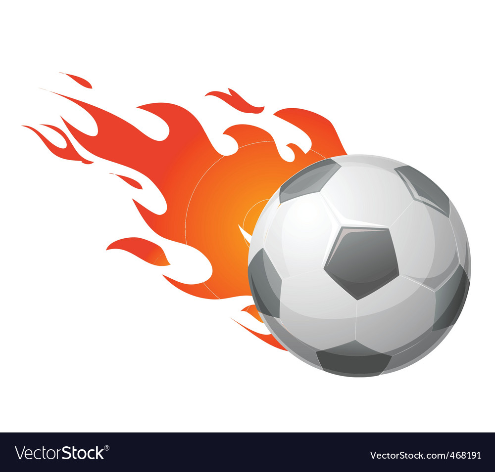 Flaming ball vector | Price: 1 Credit (USD $1)