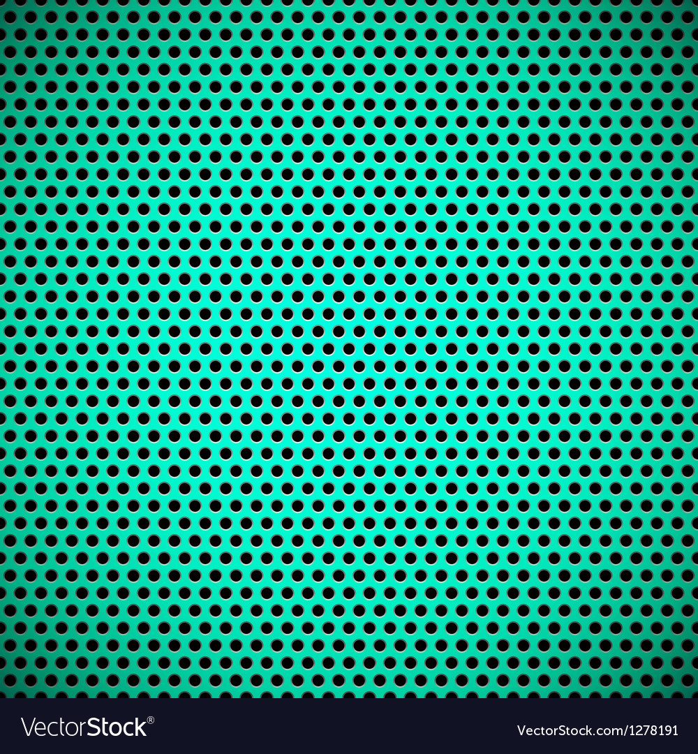 Green seamless circle perforated carbon grill vector | Price: 1 Credit (USD $1)