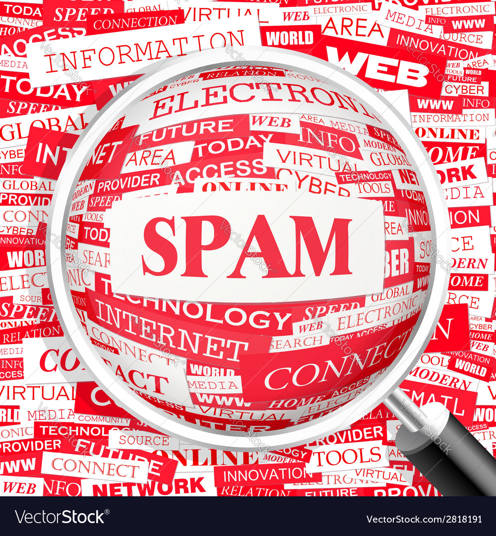 Spam vector | Price: 1 Credit (USD $1)