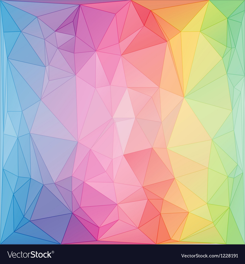Triangular style abstract background of triangles vector   Price: 1 Credit (USD $1)