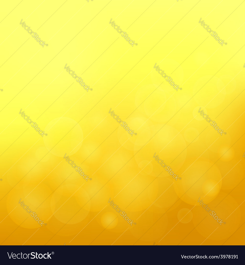 Yellow blurred background vector | Price: 1 Credit (USD $1)