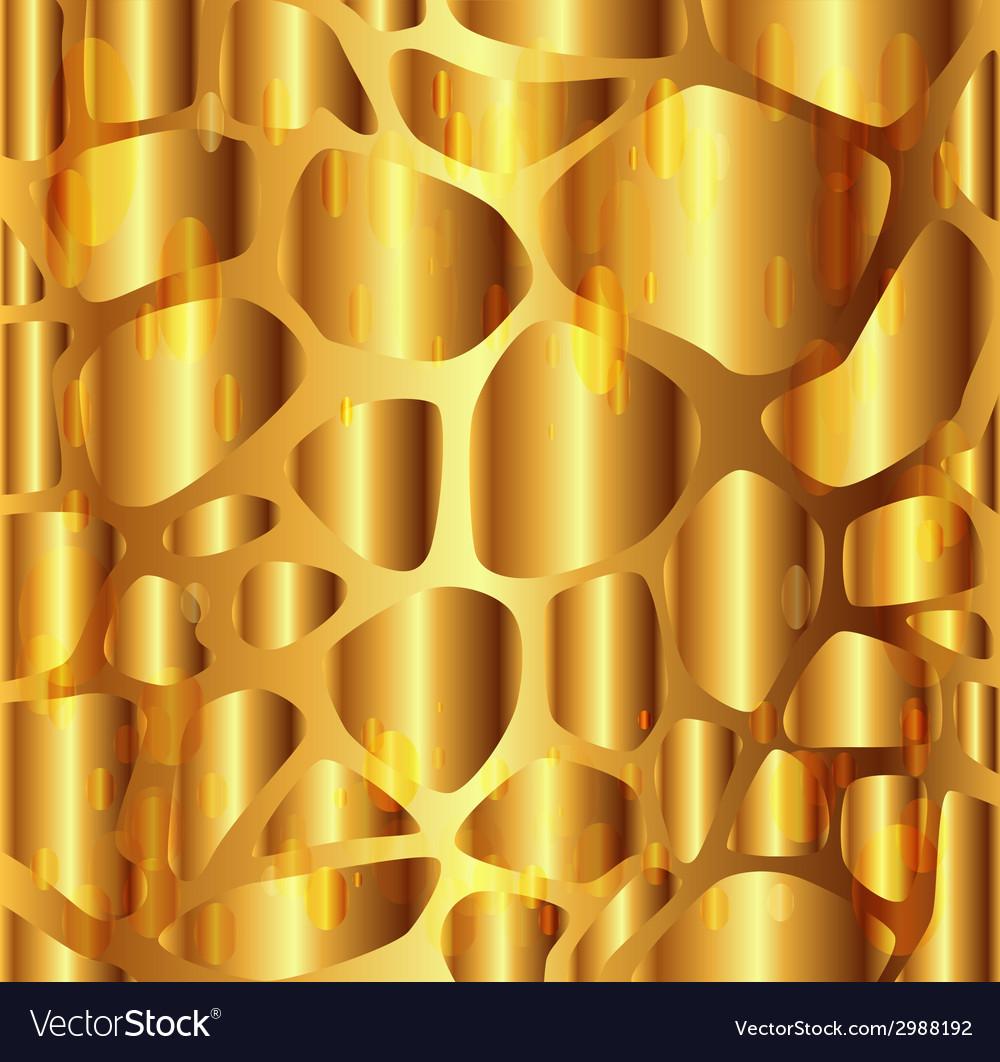 Gravel texture golden background vector | Price: 1 Credit (USD $1)