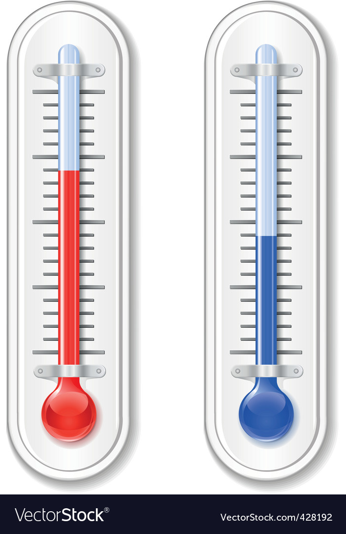 Outdoor thermometer vector | Price: 1 Credit (USD $1)