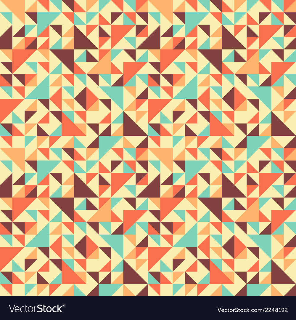 Seamless triangle background motley vector | Price: 1 Credit (USD $1)