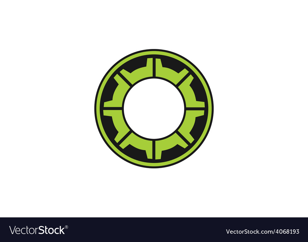 Gear cog engine abstract logo vector | Price: 1 Credit (USD $1)