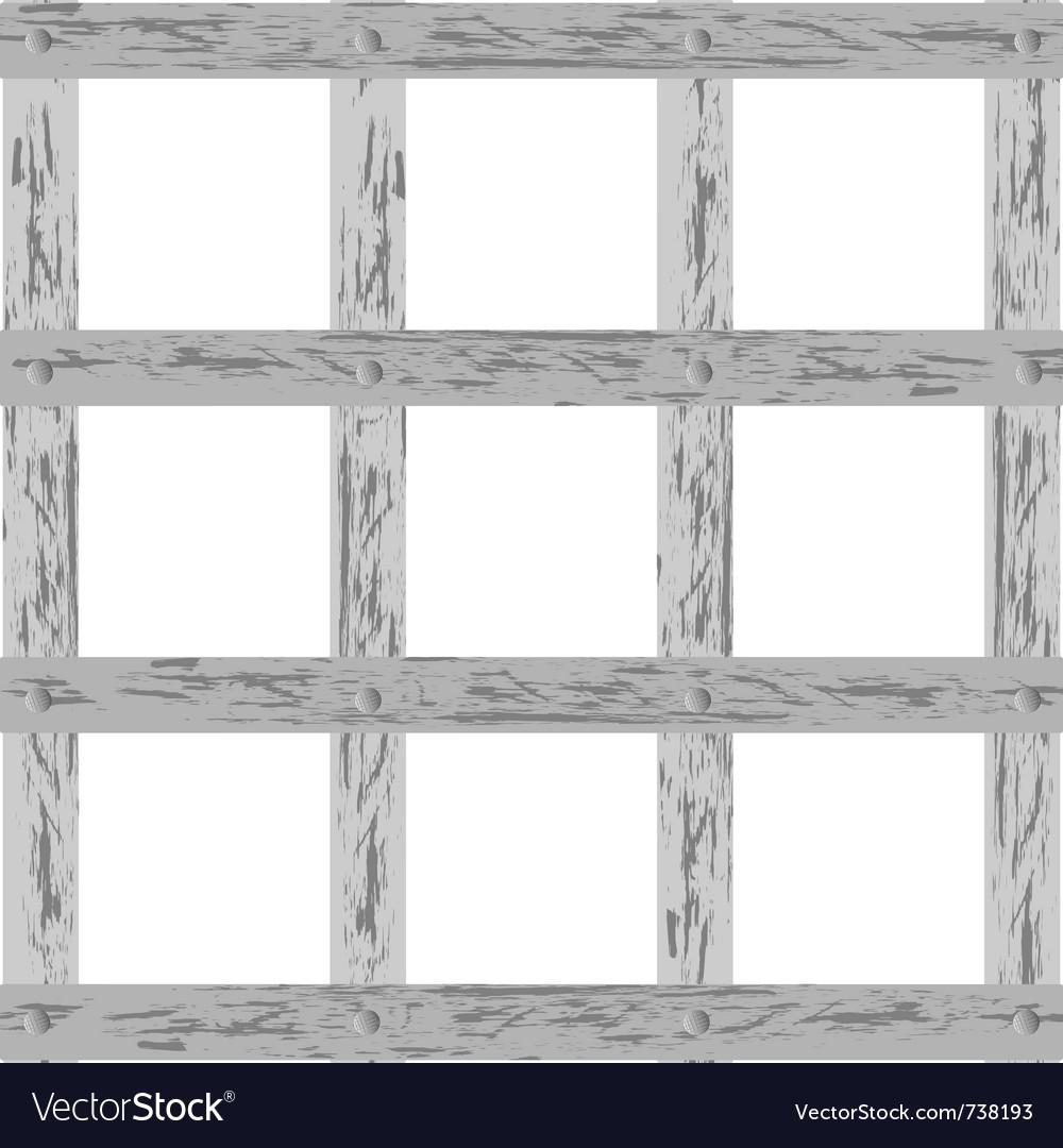 Wooden lattice vector | Price: 1 Credit (USD $1)