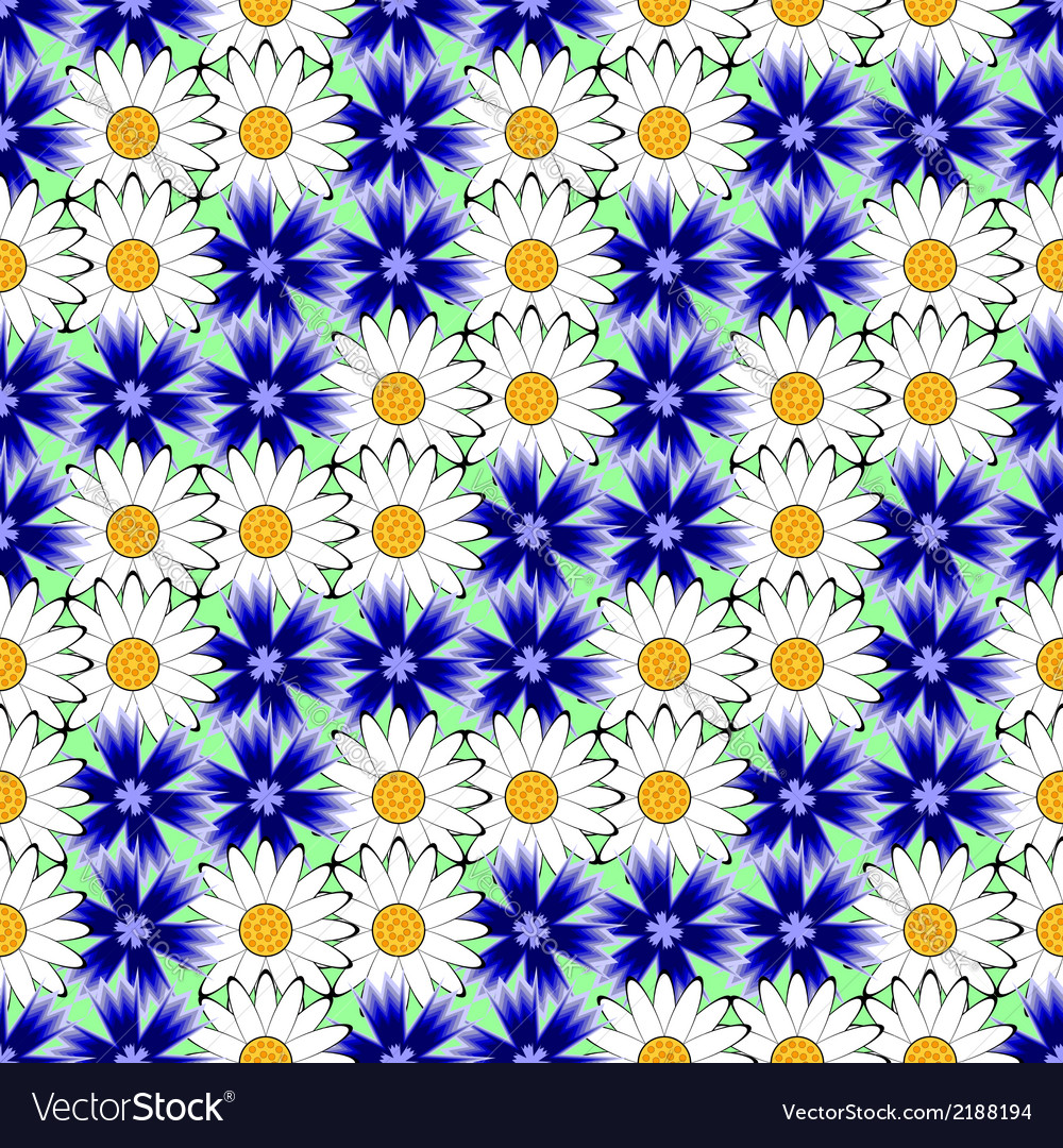 Design seamless colorful floral decorative pattern vector | Price: 1 Credit (USD $1)