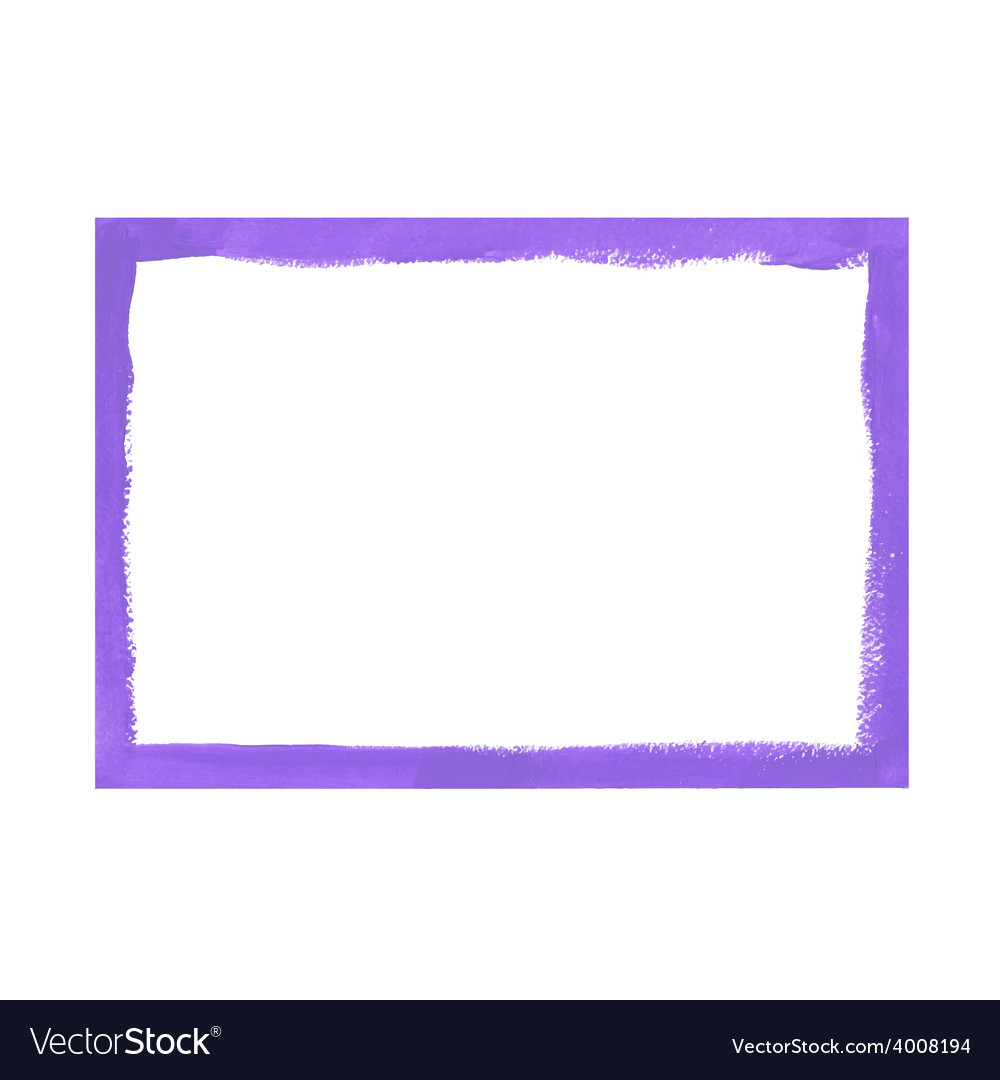 Lilac grunge frame vector | Price: 1 Credit (USD $1)
