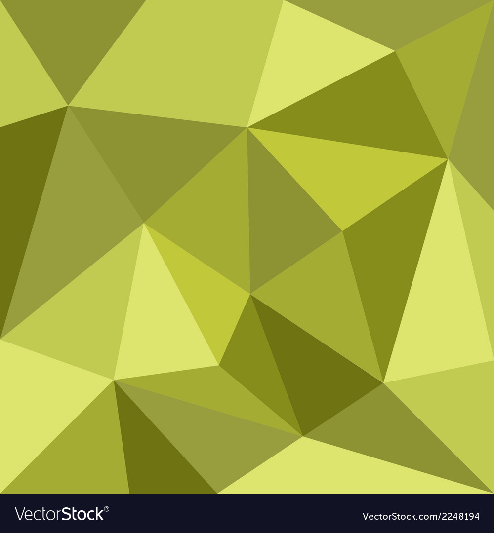 Mosaic green wrapping flat surface pattern vector | Price: 1 Credit (USD $1)