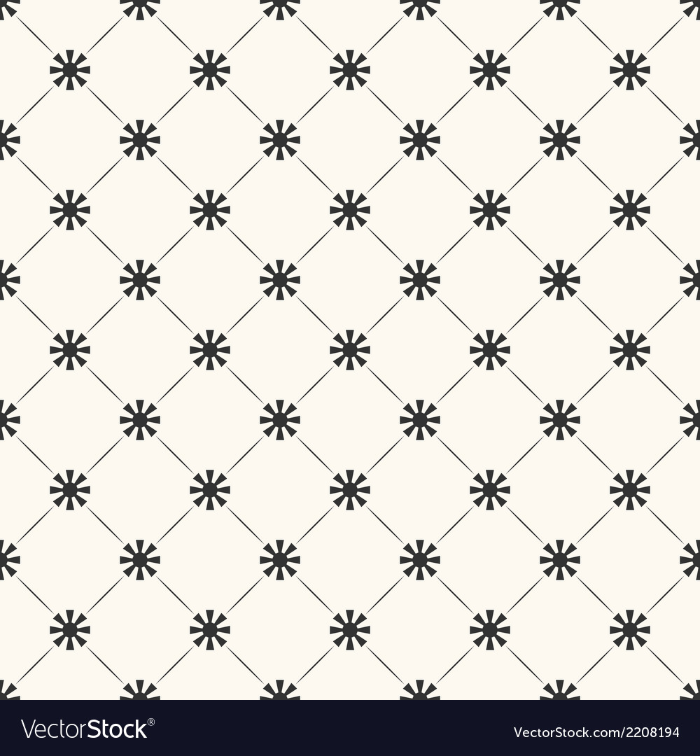 Seamless pattern of sun shape and line endless vector | Price: 1 Credit (USD $1)