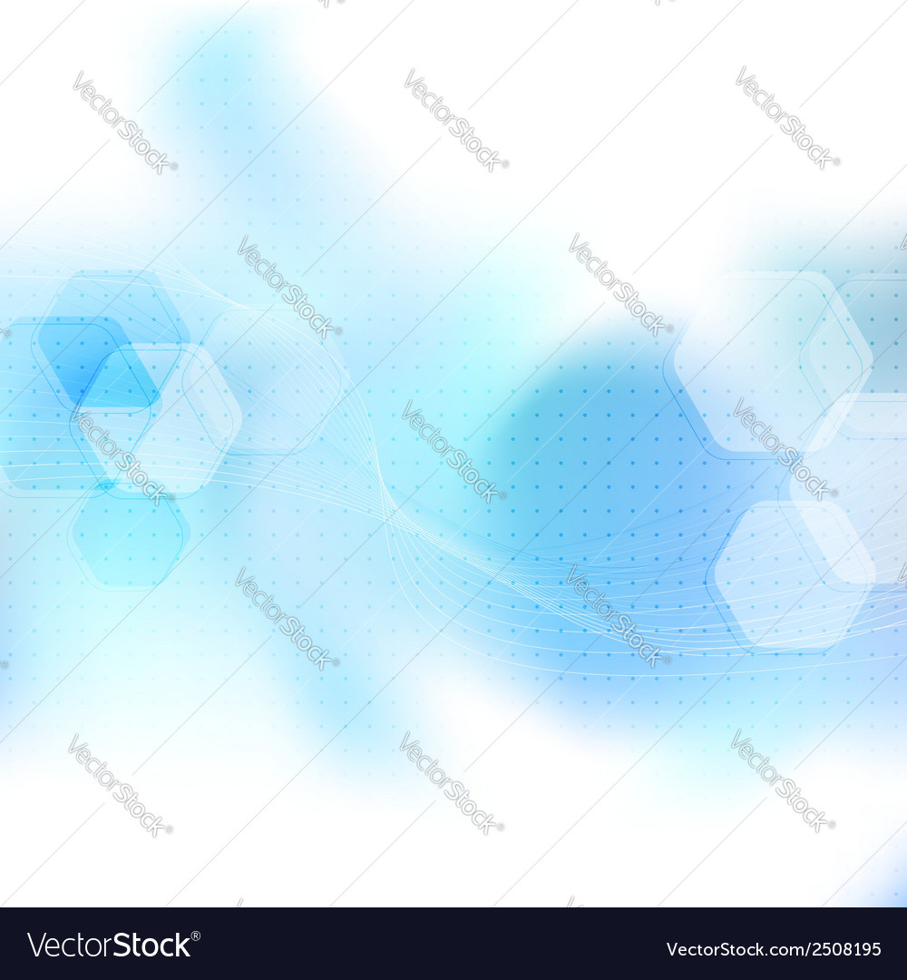 Blue abstract mobile wavy layout vector | Price: 1 Credit (USD $1)