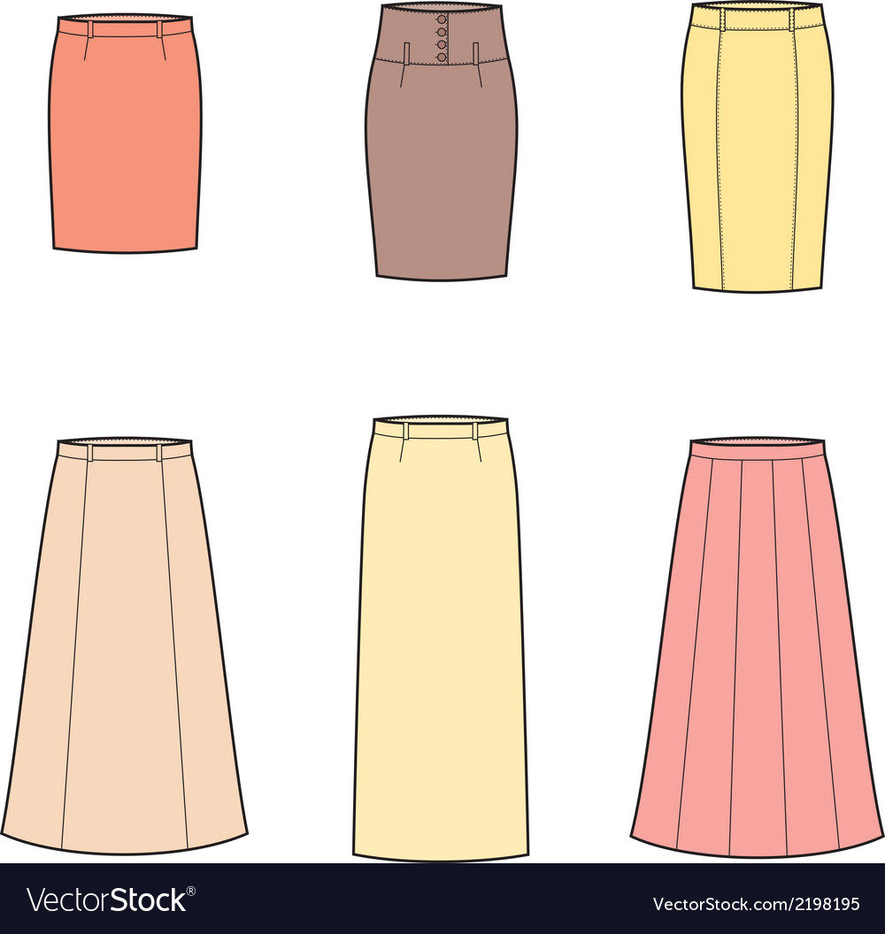 Business skirt vector | Price: 1 Credit (USD $1)