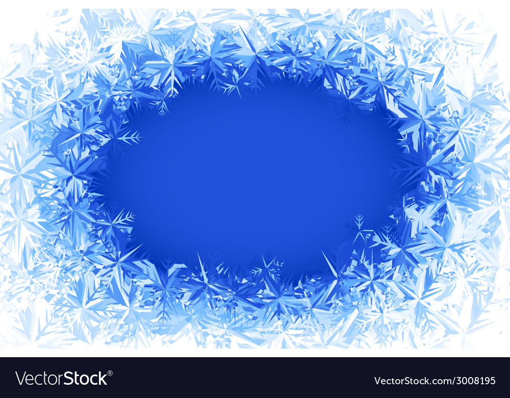 Frost frame vector | Price: 1 Credit (USD $1)
