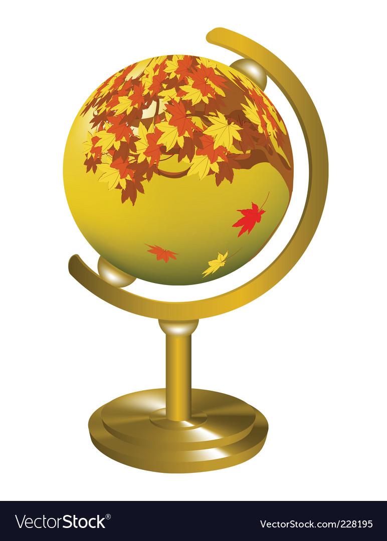 Globe object vector | Price: 1 Credit (USD $1)