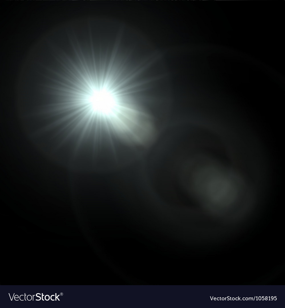 Light flare special effect vector | Price: 1 Credit (USD $1)