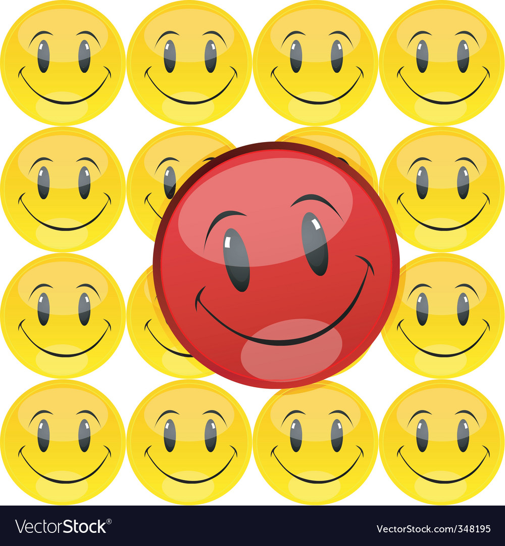 Smiley vector | Price: 1 Credit (USD $1)
