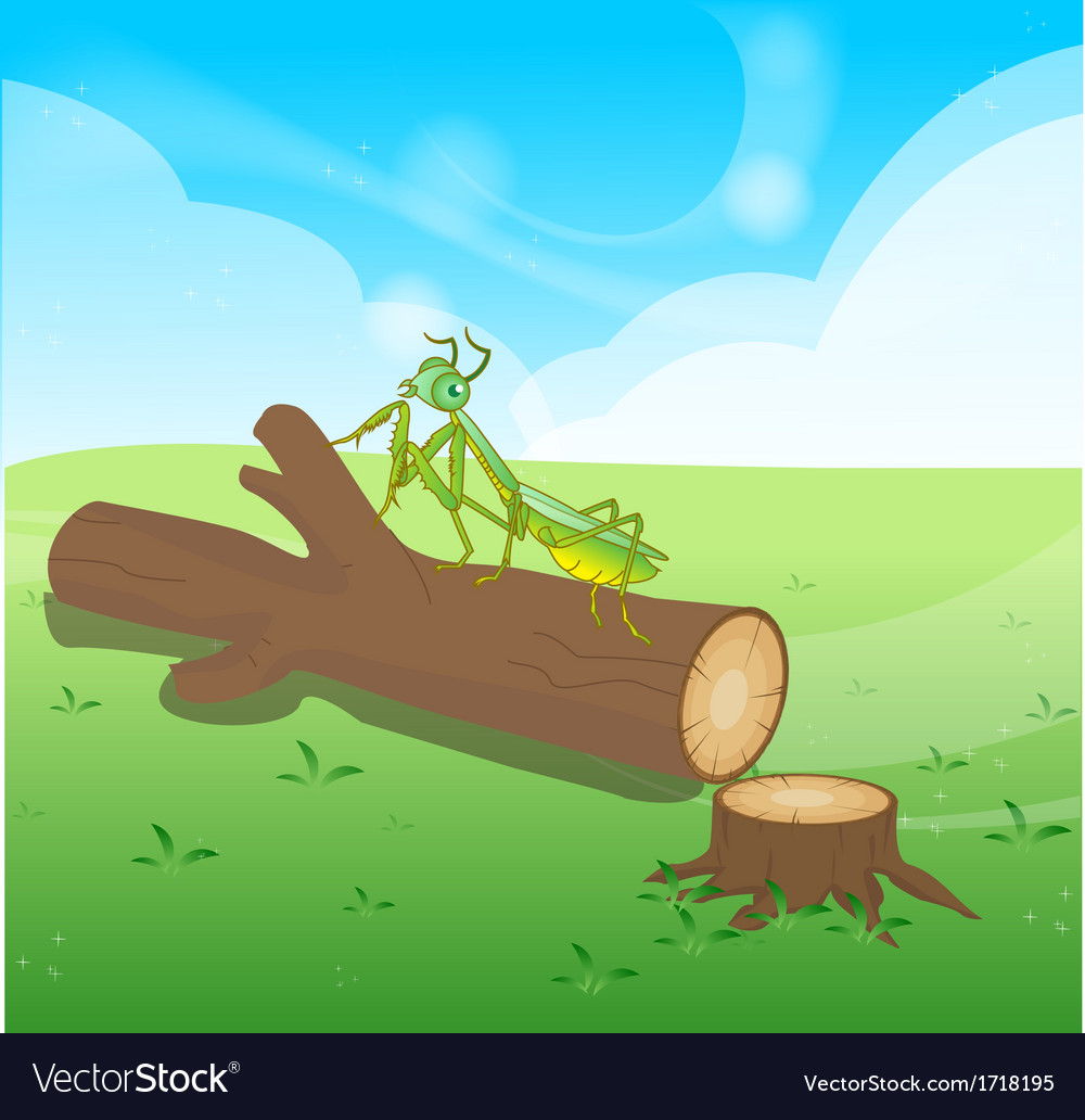 Wooden logs isolated objects vector | Price: 1 Credit (USD $1)