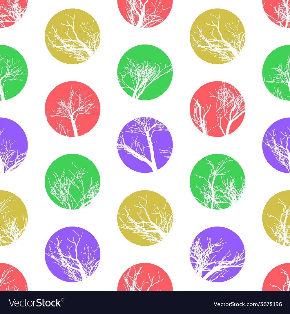 Abstract colorful circles seamless pattern vector | Price: 1 Credit (USD $1)