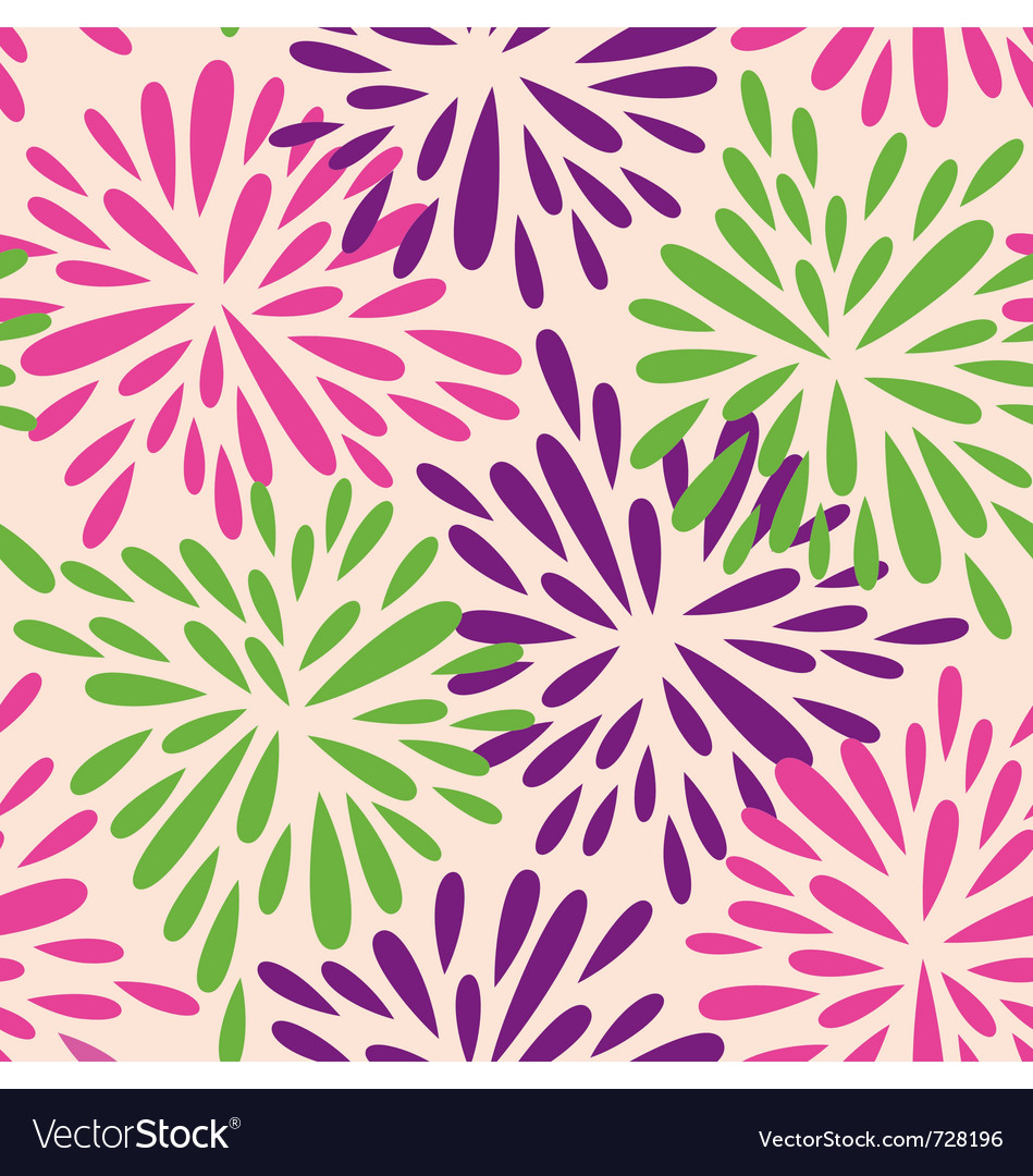 Organic shape flowers vector | Price: 1 Credit (USD $1)