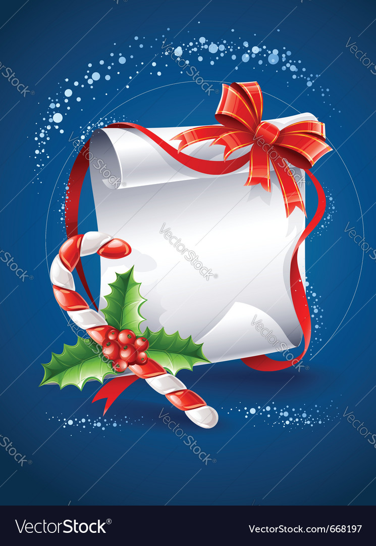 Christmas greeting card with vector | Price: 3 Credit (USD $3)