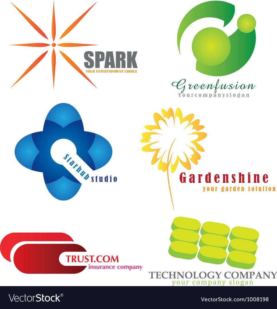 Company logos vector   Price: 1 Credit (USD $1)