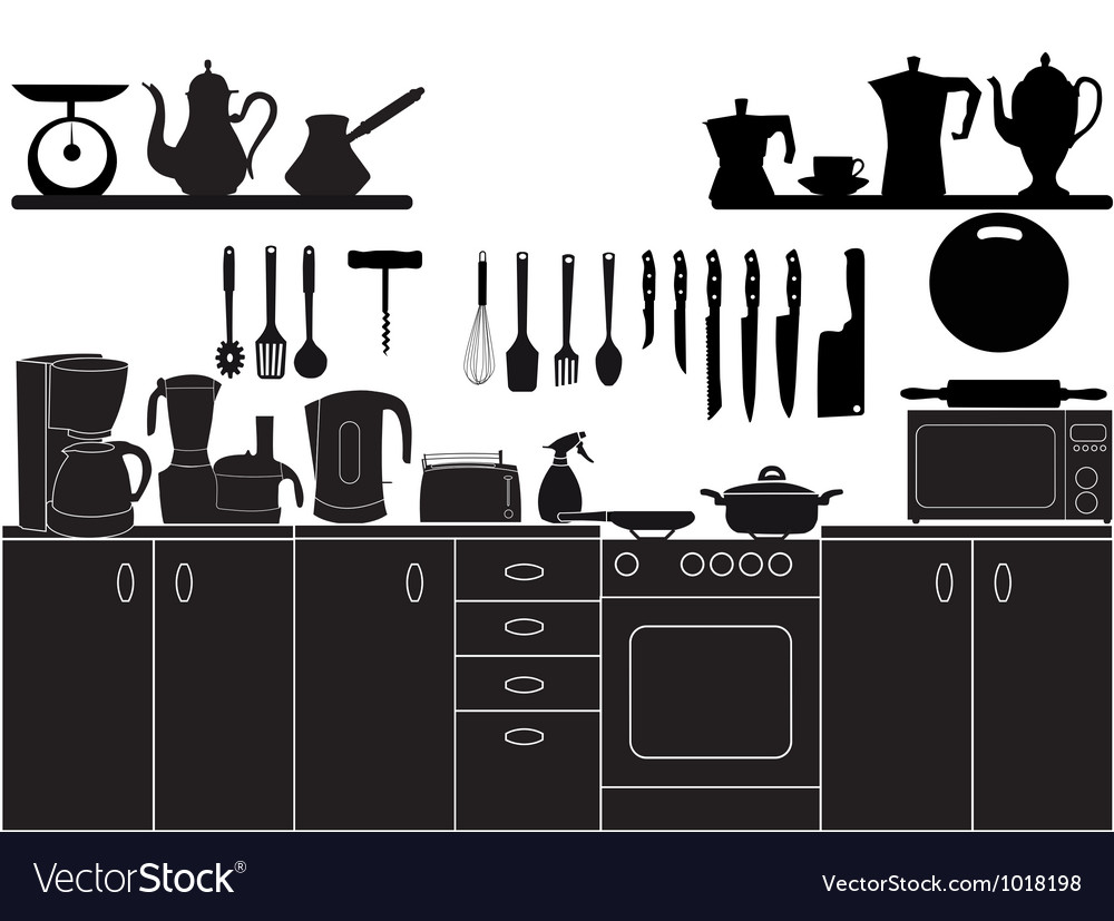 Kitchen tools for cooking vector | Price: 1 Credit (USD $1)
