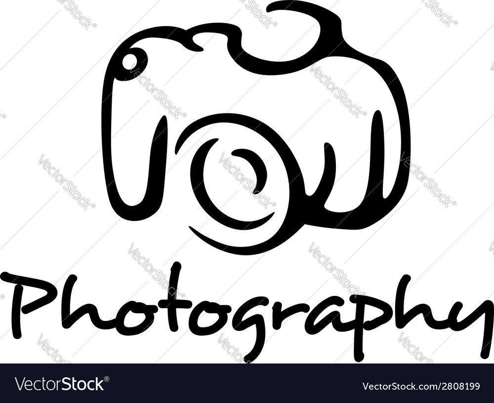 Camera and photography emblem vector | Price: 1 Credit (USD $1)