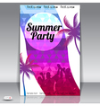 Summer party vector