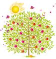 Summer tree vector