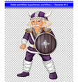 Violet viking vector