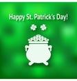 St patricks day card vector