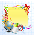 Stationery and objects vector