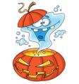 Ghost halloween vector